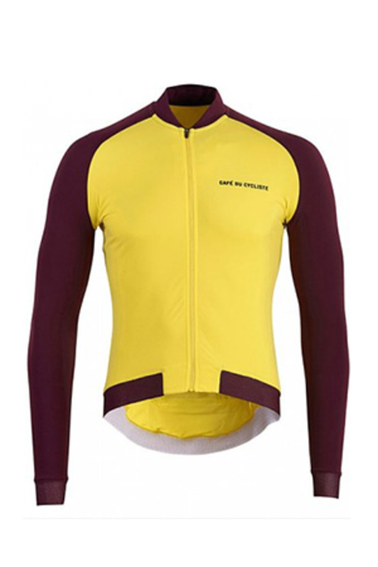[Cafe du Cycliste] 카페 뒤 사이클리스트 Men's 다프네 Daphne Colour Jersey - Yellow
