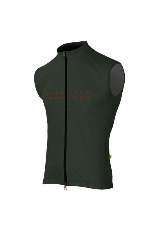[Pedla] 페들라 Men's Core / Windcheater Gilet (Olive)