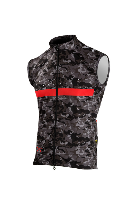 [Pedla] 페들라 Men's RideCAMO / Windcheater Gilet (Black)