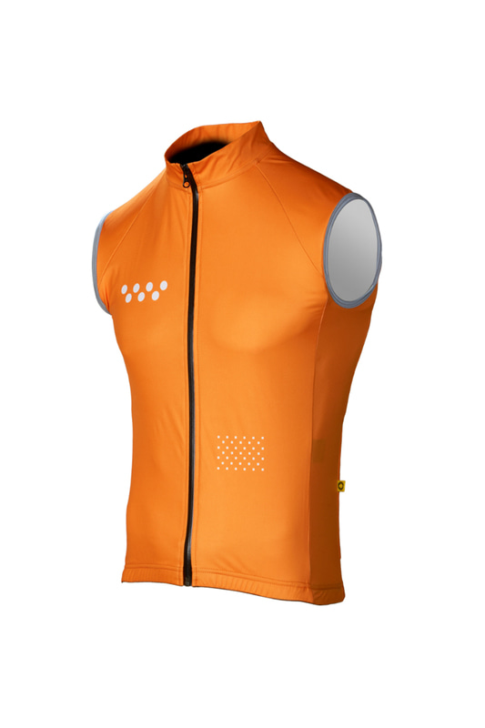 [Pedla] 페들라 The Wilds Men's AquaDRY RG2 Gilet - Orange