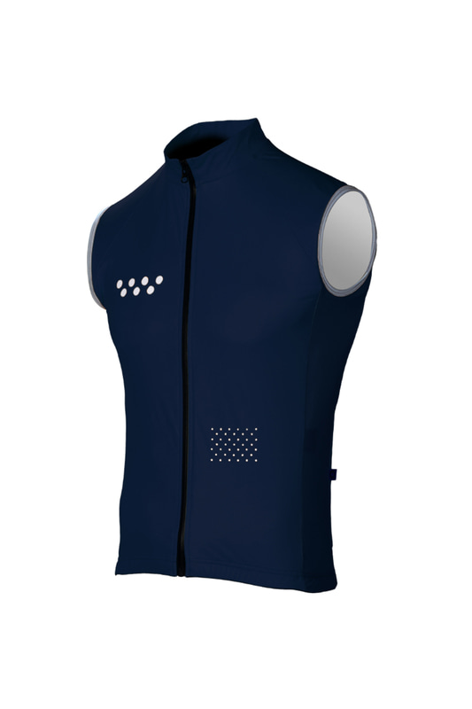 [Pedla] 페들라 The Wilds Men's AquaDRY RG2 Gilet - Navy