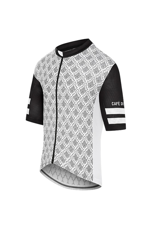 [Cafe Du Cycliste] Men's Tichka Jersey - black/white 티치카 저지 블랙/화이트