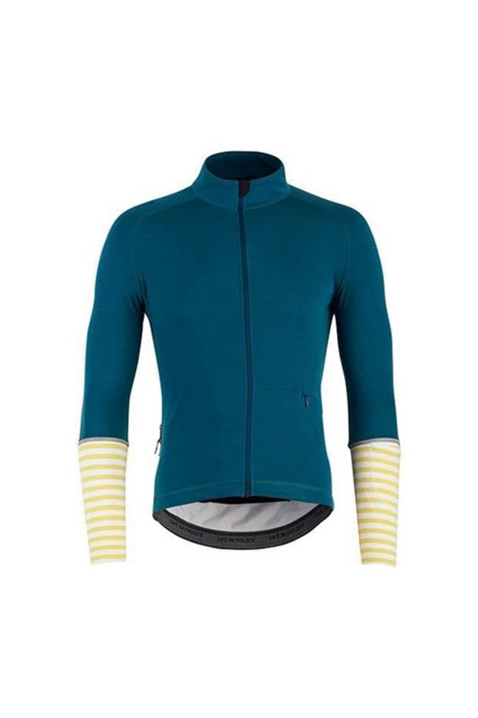 [Cafe Du Cycliste] Men's Arlette jersey - blue 아를레트 저지 블루