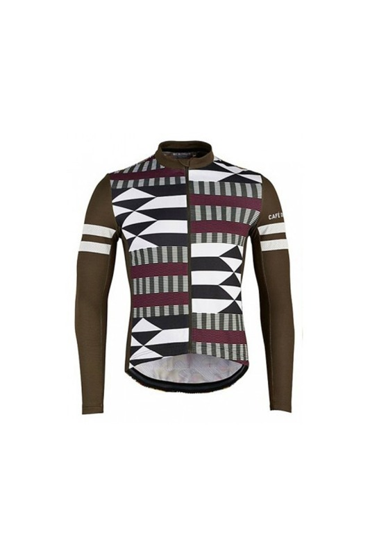 [Cafe du Cycliste] Men's boubou farah cycling ls jersey tribe 부부 파라 사이클링 LS 저지 트라이브