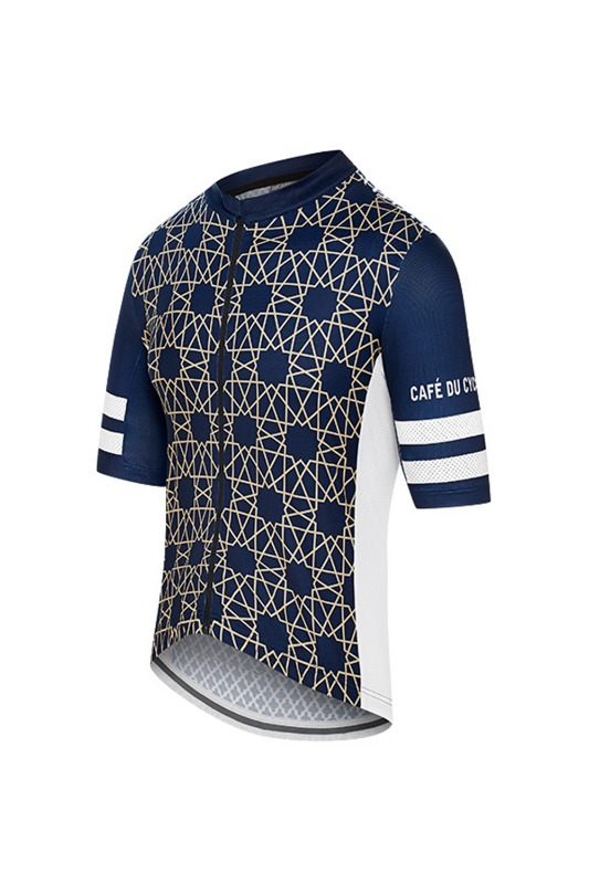 [Cafe Du Cycliste] Men's Tichka Jersey - navy 티치카 저지 네이비