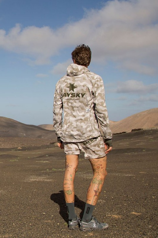 [SAYSKY] men's SPLINTER PACE SHORTS - Desert Splinter Camo 스플린터 페이스 쇼츠 데저트카모