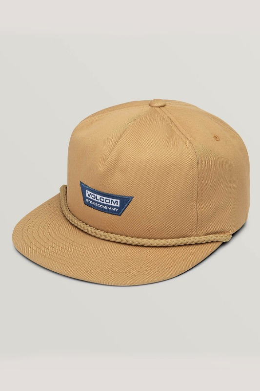 [VOLCOM] Men's STONE BREW HAT - Camel
