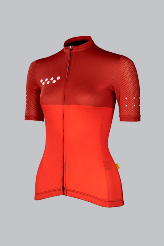 [pedla] 페들라 Women's LUNAAIR Jersey - CHERRY