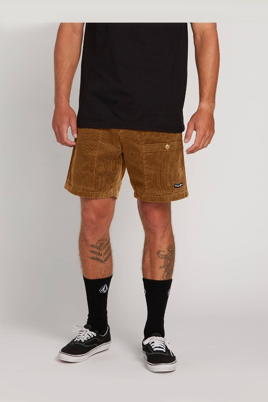 [VOLCOM] Men's SUBSCALE CORD EW SHORT  - Rubber