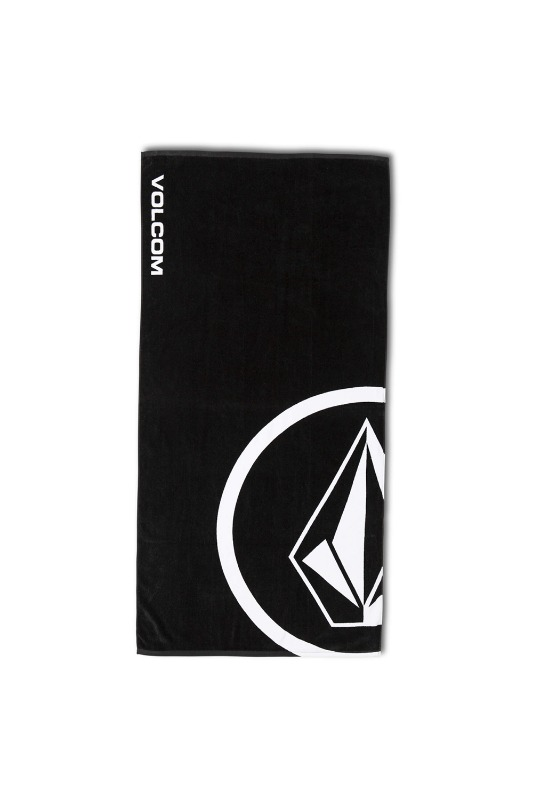 [VOLCOM]   VOLCOM  TOWEL - Black