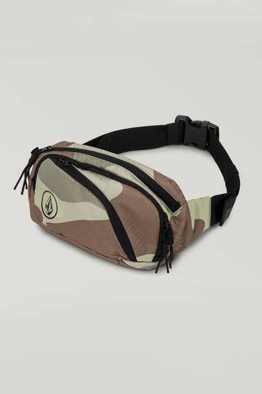 [VOLCOM] Men's WAISTED PACK - Army