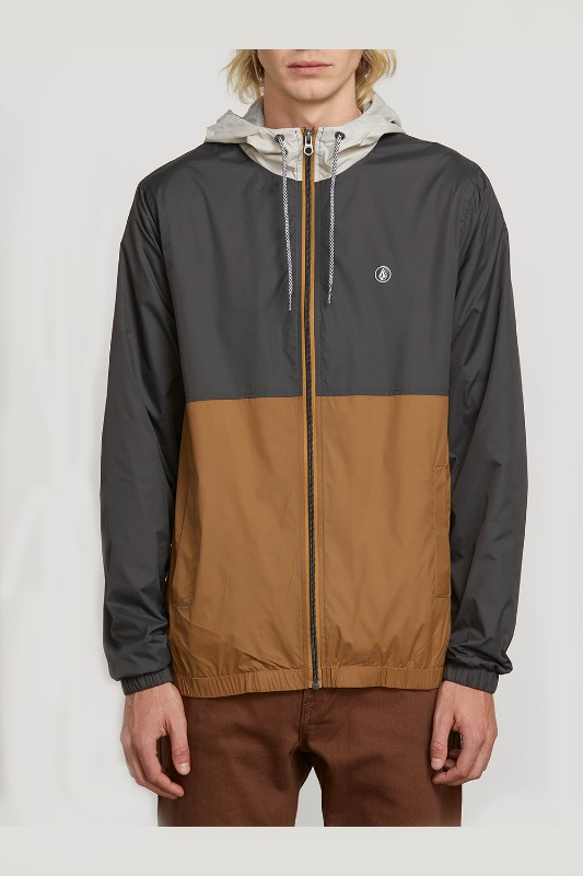 [VOLCOM] MEN'S EROMONT JACKET - DARK KHAKI