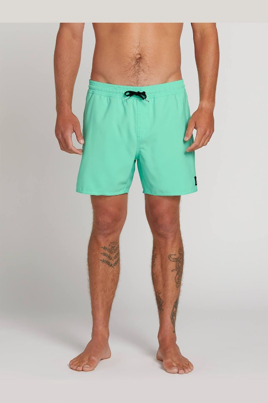[VOLCOM] Men's LIDO VOLLEYS   - Ice Green