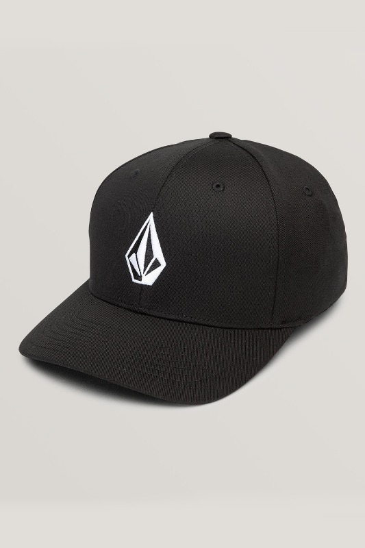 [VOLCOM] Men's FULL STONE XFIT HAT - Black