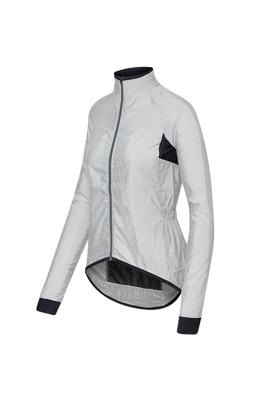 [Cafe Du Cycliste] Women's Madeleine jacket - white/superlight 마들렌 재킷 화이트/스트라이프