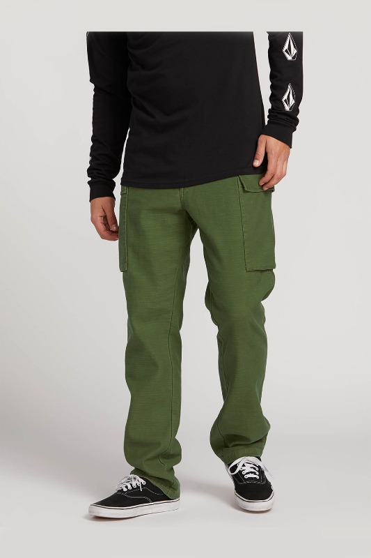[VOLCOM] Men's GRITTER CARGO PANTS - Army