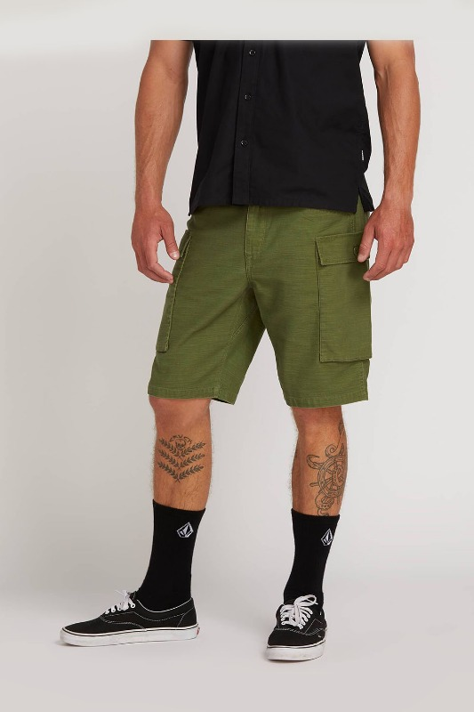 [VOLCOM] Men's GRITTER CARGO SHORT - Army