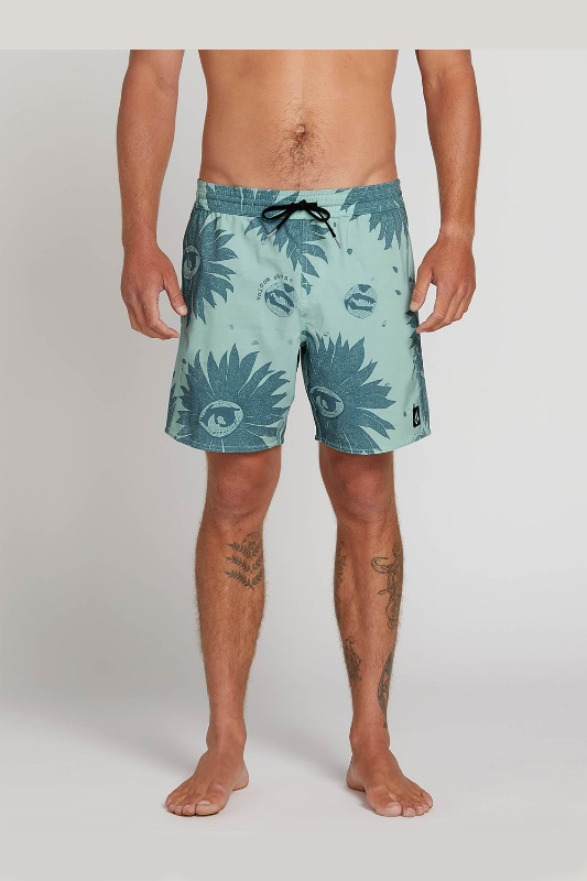 [VOLCOM] Men's REMOTE TRUNKS  - SEA GLASS