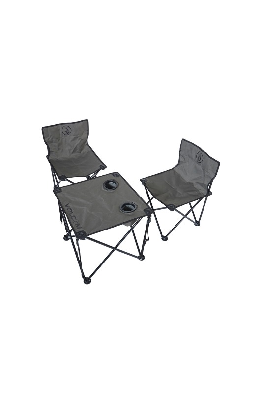 [VOLCOM] CIRCLE STONE BEACH CHAIR SET  - Olive