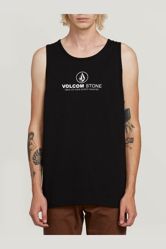 [VOLCOM] MEN'S SUPER CLEAN TANK - BLACK
