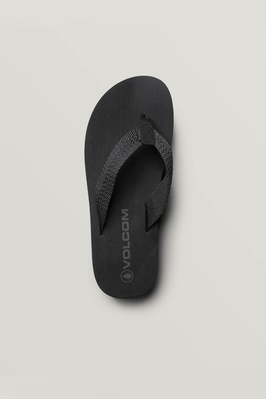 [VOLCOM] Men's DAYCATION  TEXTILE SANDALS - Black Out