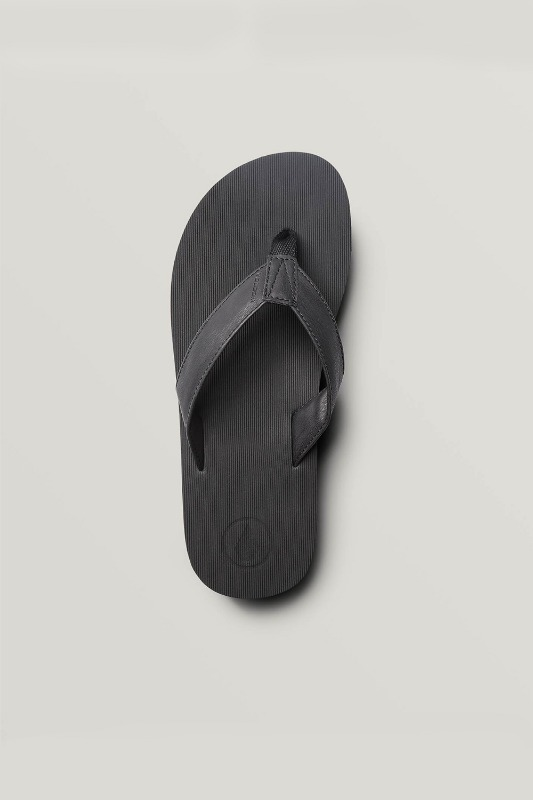 [VOLCOM] Men's FATHOM EVA SANDALS - Black Out