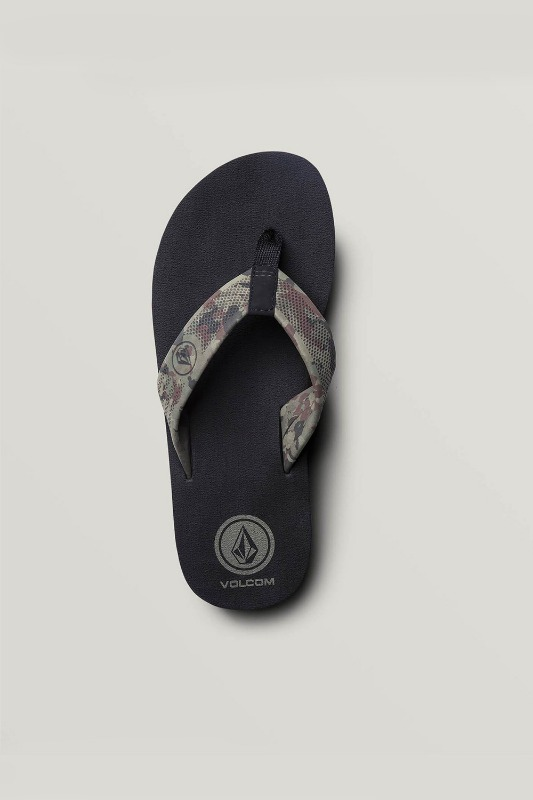 [VOLCOM] Men's DAYCATION SANDALS - Dark Camo
