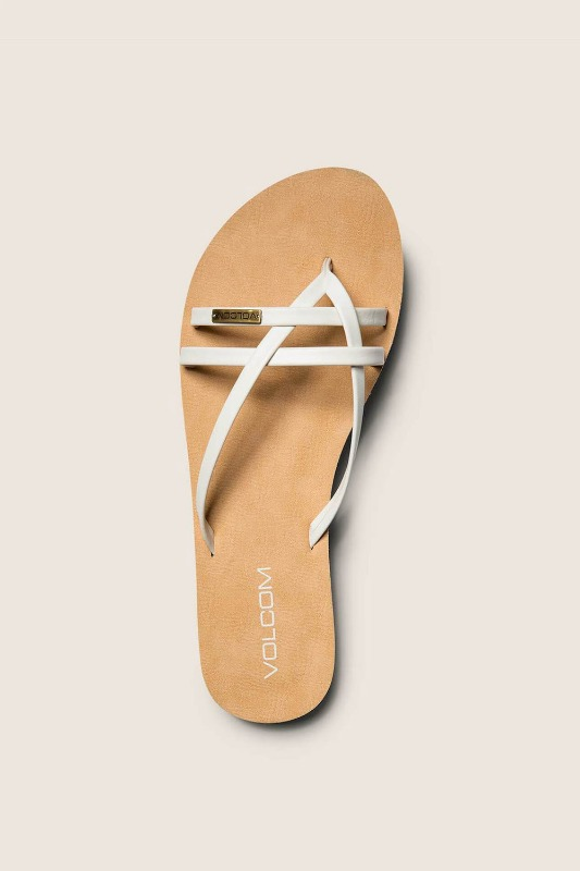 [VOLCOM] WOMEN's LOOKOUT 2 SANDALS - White