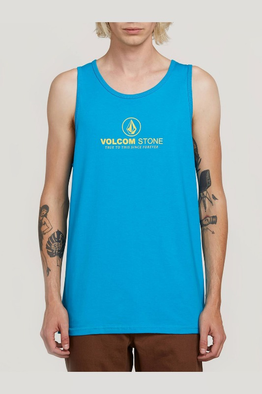 [VOLCOM] MEN'S SUPER CLEAN TANK - BRIGHT BLUE