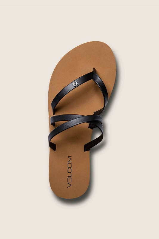 [VOLCOM] WOMEN's EASY BREEZY SANDALS - Black