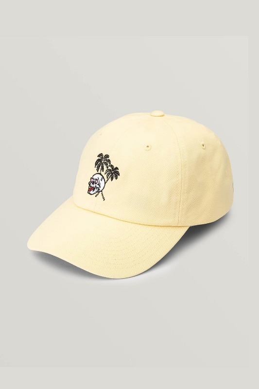 [VOLCOM] WOMEN'S THAT WAS FUN HAT - FADED LEMON
