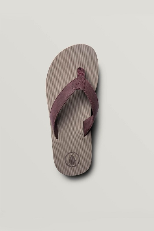 [VOLCOM] Men's FATHOM EVA SANDALS - Red Combo