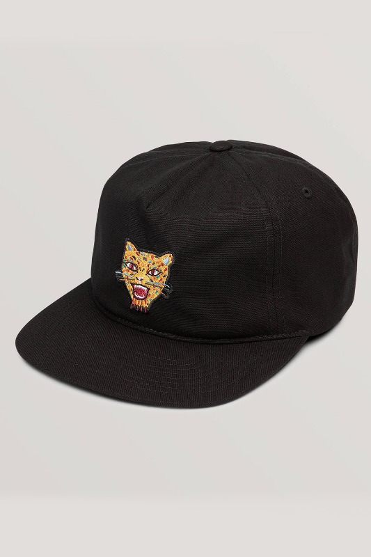 [VOLCOM] Men's OZZIE TIGER HAT - Black