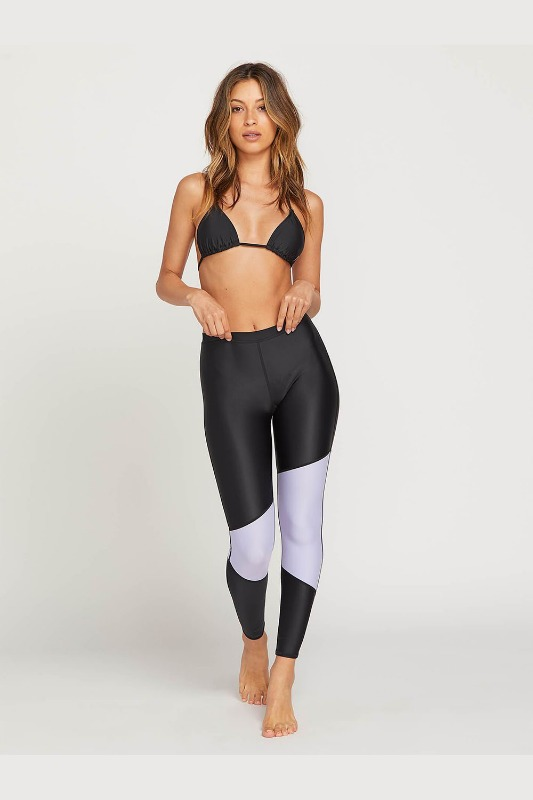 [VOLCOM] WOMEN'S SIMPLY SOLID LEGGINGS - Violet