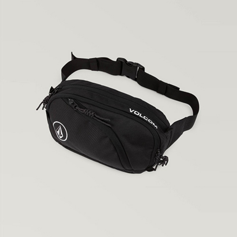 [VOLCOM] MEN'S WAISTED PACK - BLACK