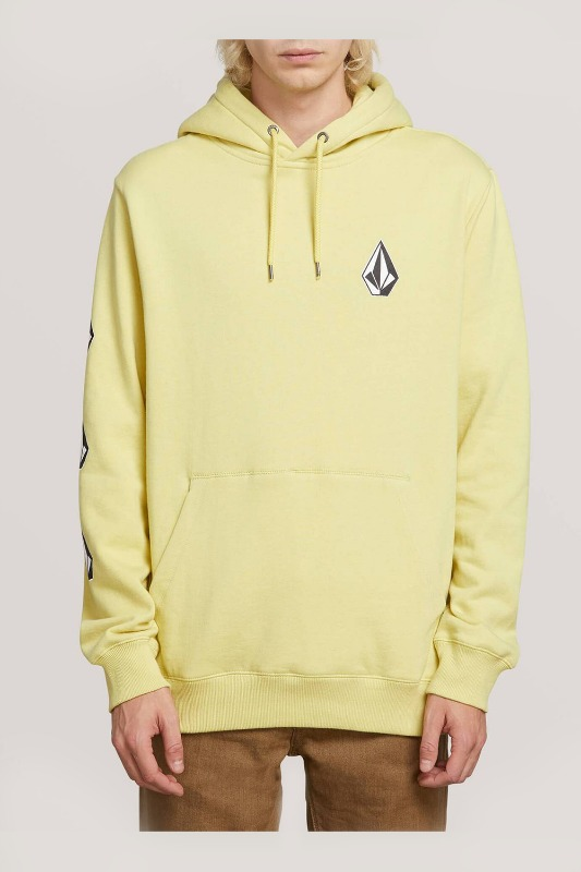 [VOLCOM] MEN'S DEADLY STONE P/O - LIME