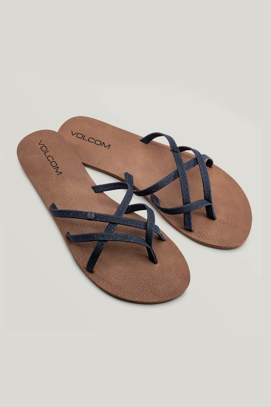 [VOLCOM] WOMEN's NEW SCHOOL SANDALS - Midnight Blue