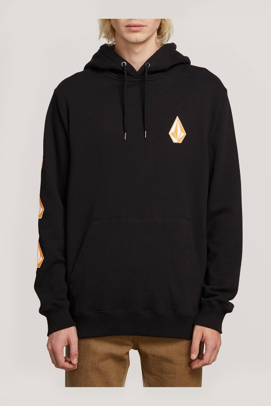 [VOLCOM] MEN'S DEADLY STONE P/O - BLACK