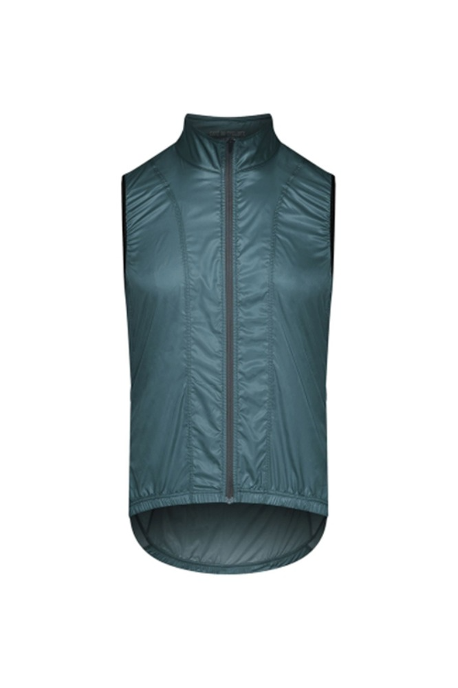 [Cafe Du Cycliste] Men's Petra Superlight Windstopper Gilet Mountain-Green 페트라 슈퍼라이트 윈드스타퍼 질렛 마운틴그린