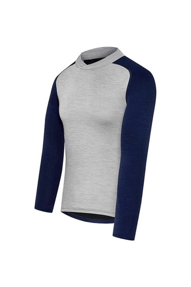 [Cafe Du Cycliste] Men's Cosette Baselayer - Navy 코세트 베이스레이어 네이비
