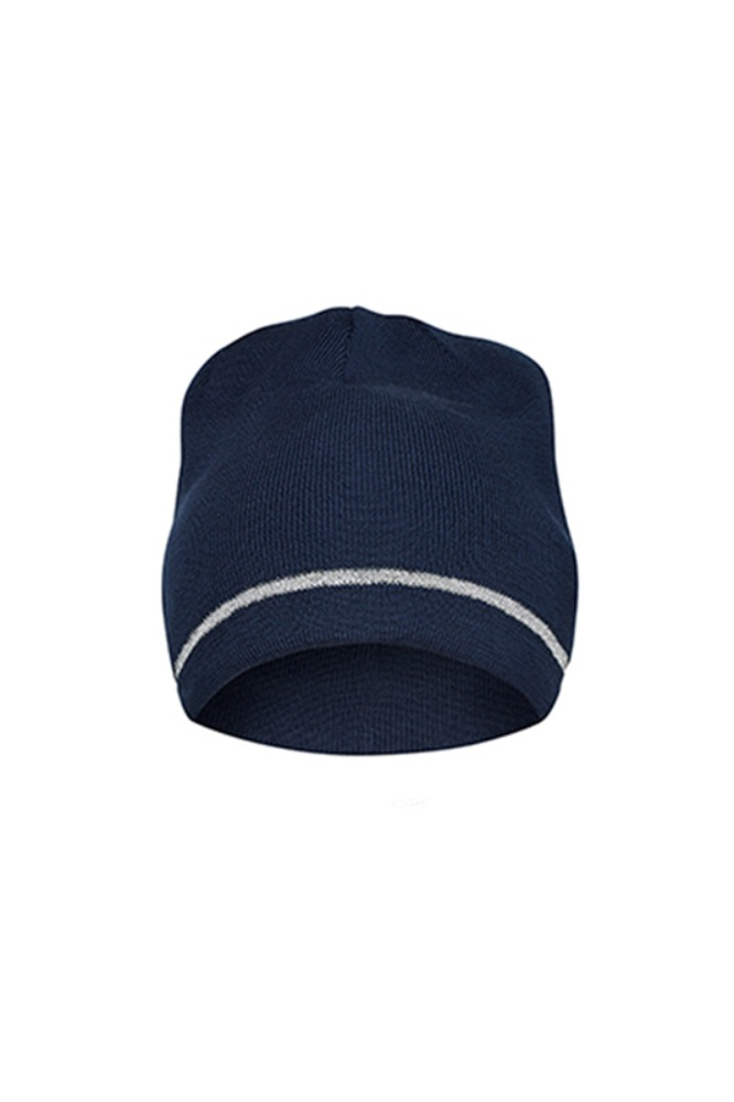 [Cafe Du Cycliste] Diane Beanie Merino Heather Navy Reflective 다이앤 메리노 비니 네이비 리플렉티브
