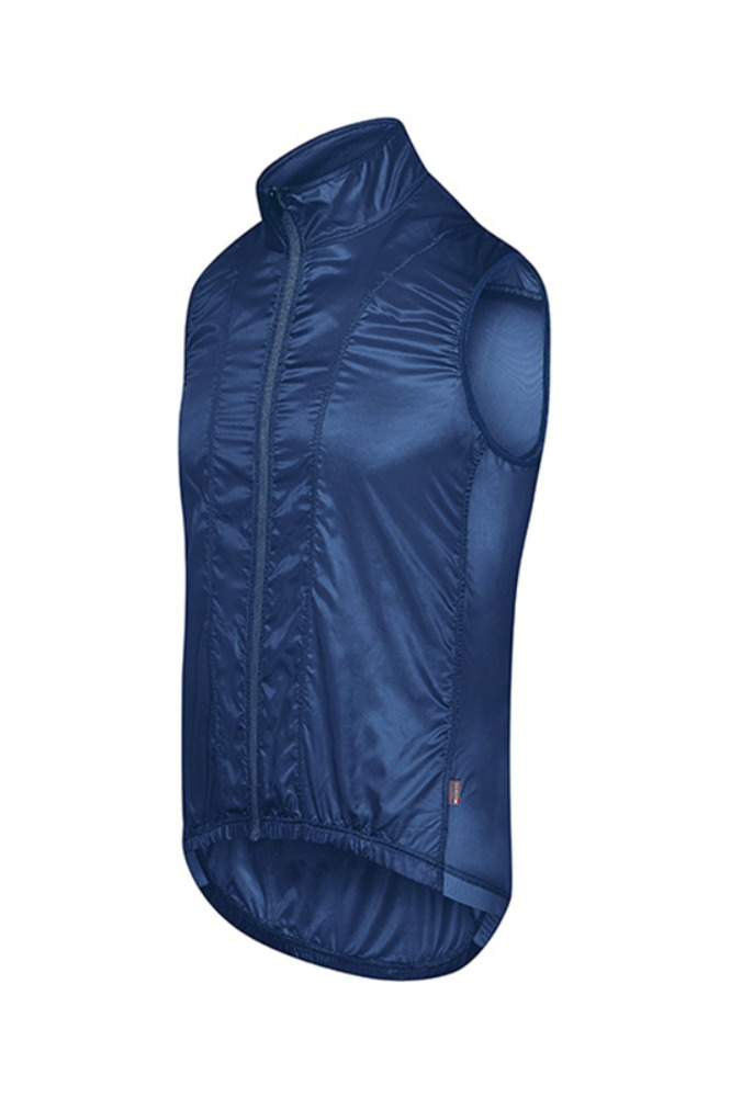 [Cafe Du Cycliste] Men's Petra Superlight Windstopper Gilet Peacock-Blue 페트라 슈퍼라이트 윈드스타퍼 질렛 피콕블루