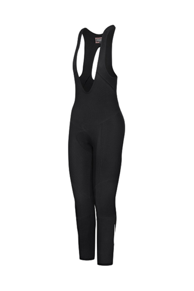 [Cafe Du Cycliste] women's Marie Winter Bibtights Black 마리 윈터 빕타이즈 블랙