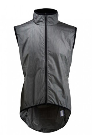 [Cafe Du Cycliste] 카페 뒤 사이클리스트 마들렌 질렛 Men's Madeleine Ultralight Gilet - Grey Glen Check