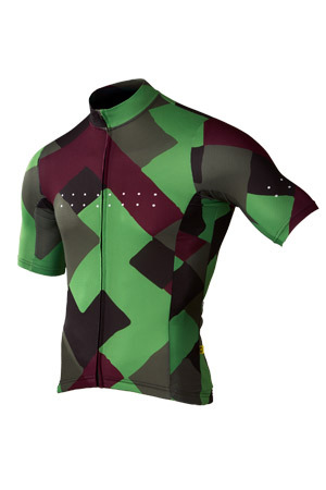 [Pedla] 페들라 Men's Full Gas Aero  Segment Jersey - Forest Green