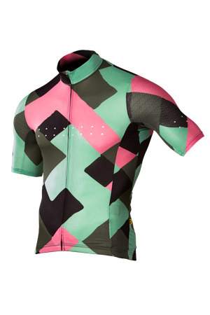 [Pedla] 페들라 Men's Full Gas LunaAIR  Segment Jersey - Pistachio