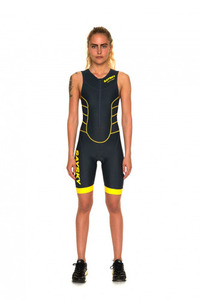 [Say sky] Women's Vitruvian Tri Suit - Black